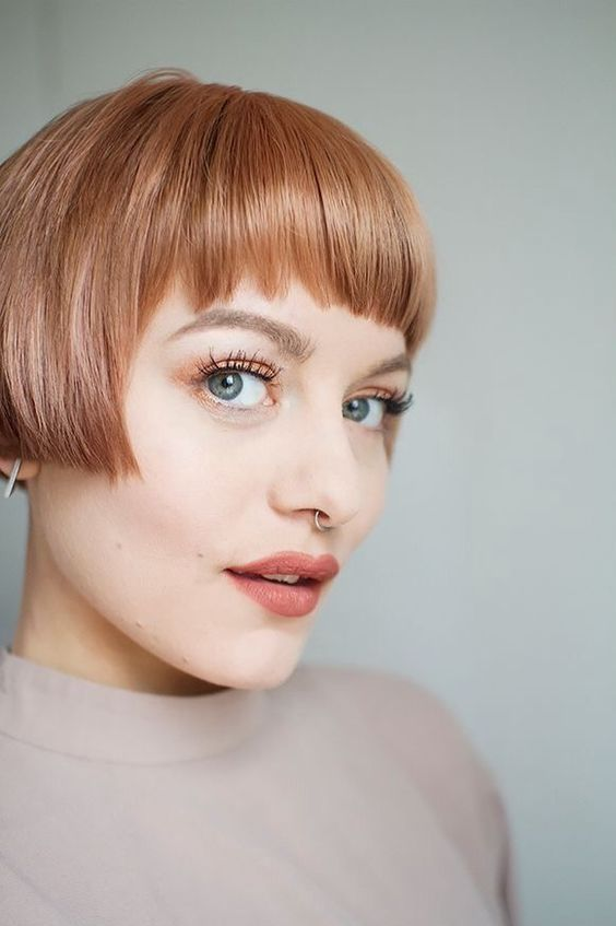 short haircuts for round faces new 22
