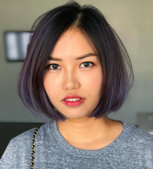 short haircuts for round faces new 25