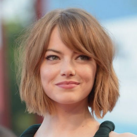 short haircuts for round faces new 4