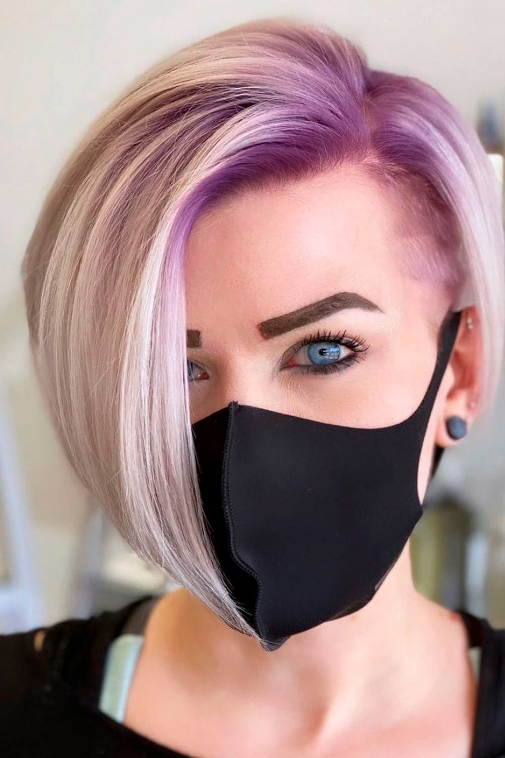 short haircuts with bangs adorable stylish ideas 13