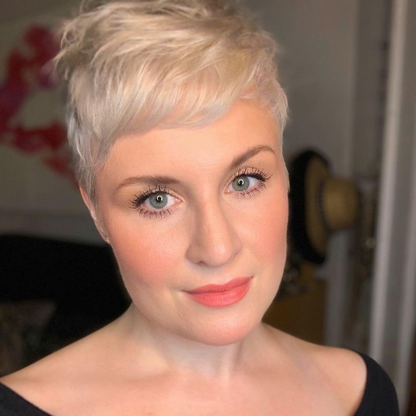 short haircuts with bangs adorable stylish ideas 17