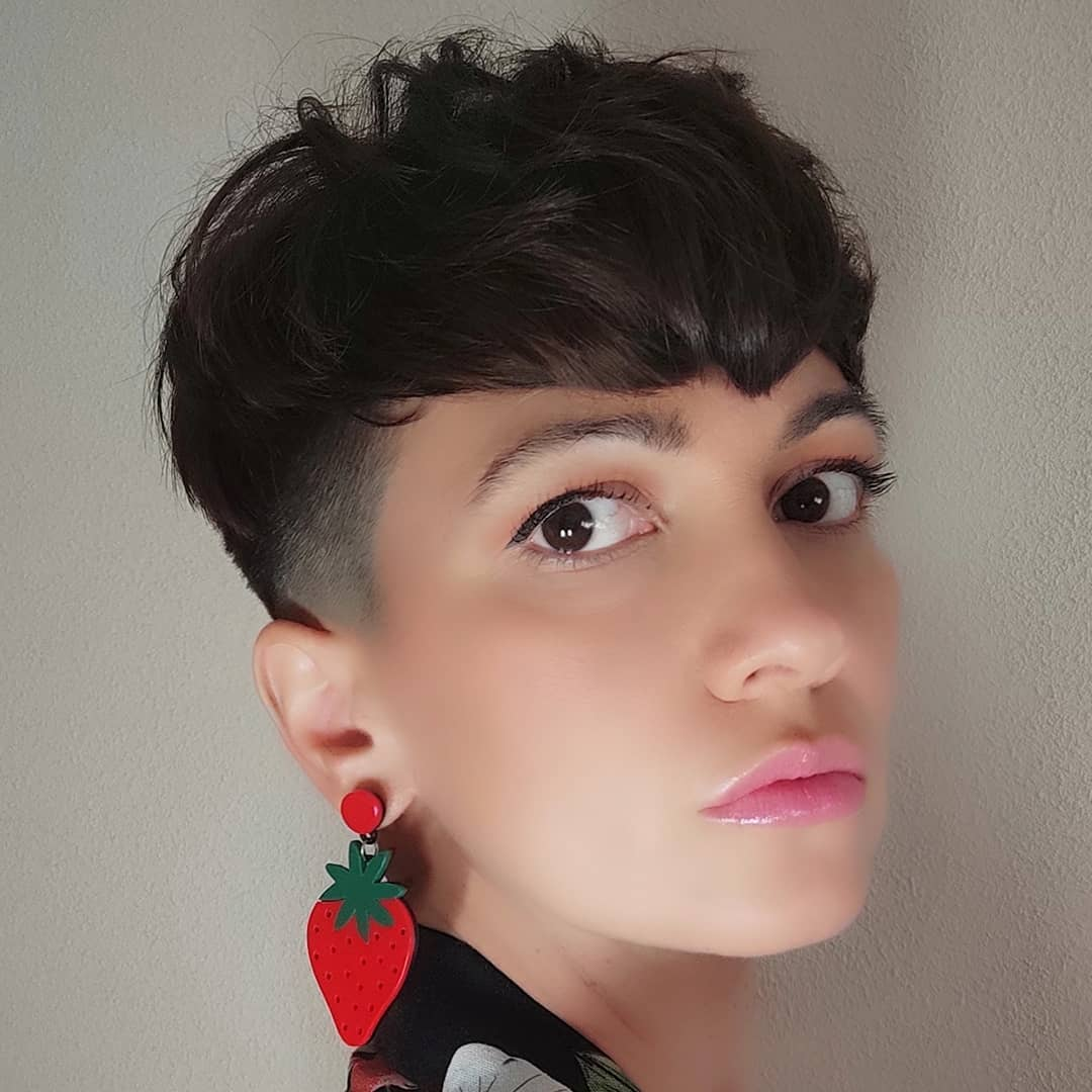 short haircuts with bangs adorable stylish ideas 18