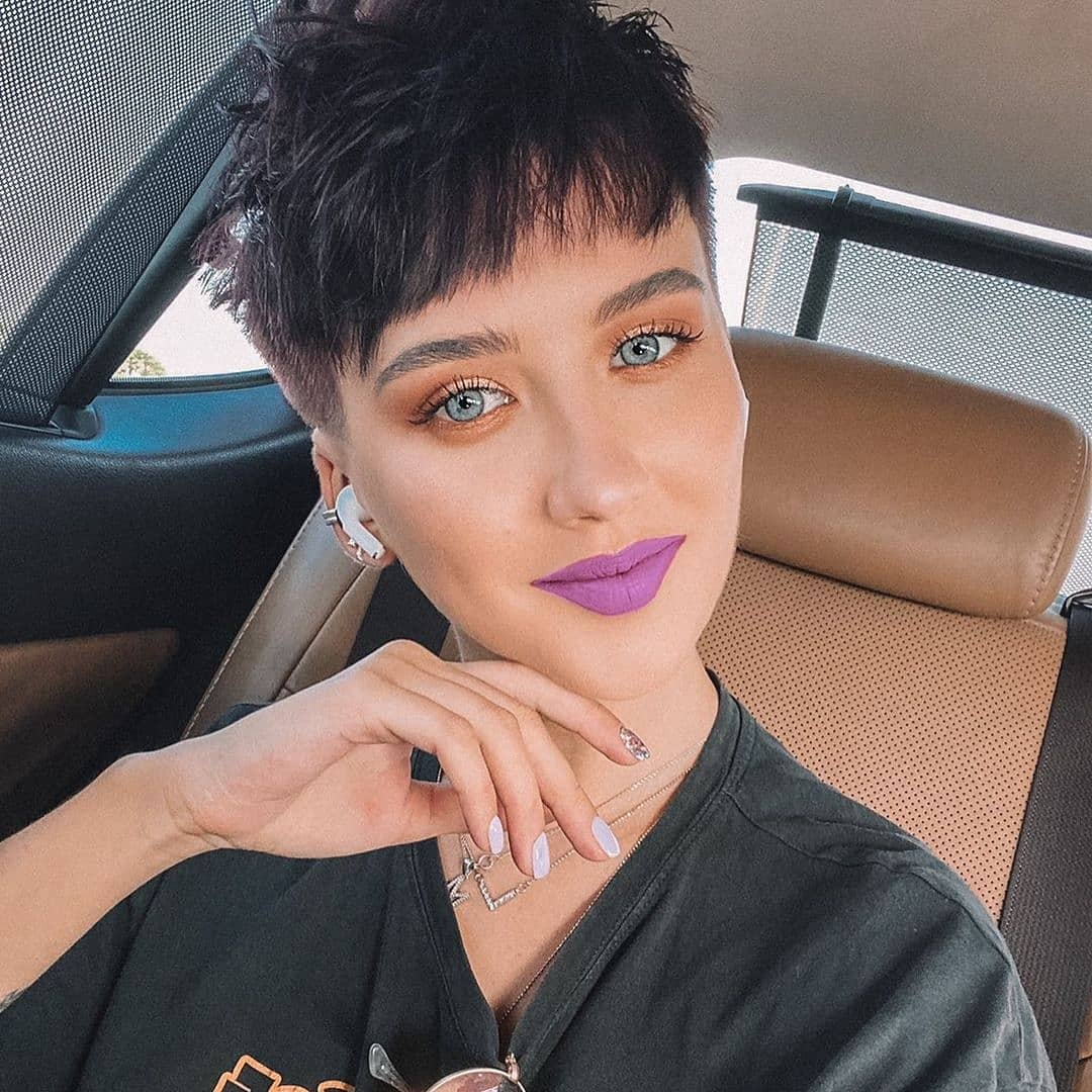 short haircuts with bangs adorable stylish ideas 25