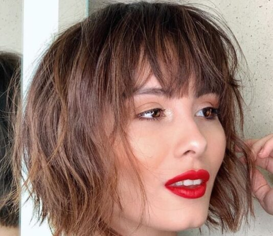 short haircuts with bangs adorable stylish ideas 7