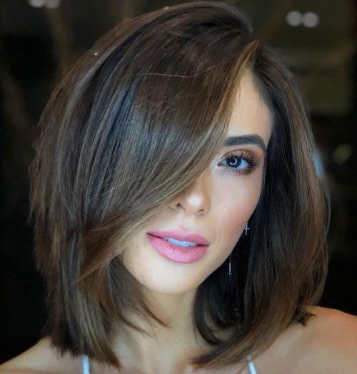 short hairstyles for fat faces 2021 version 17