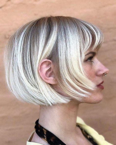 short hairstyles for fat faces 2021 version 23