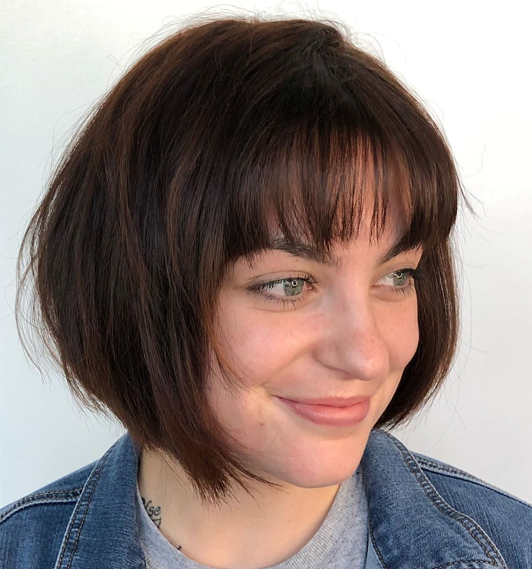short hairstyles for fat faces 2021 version 33