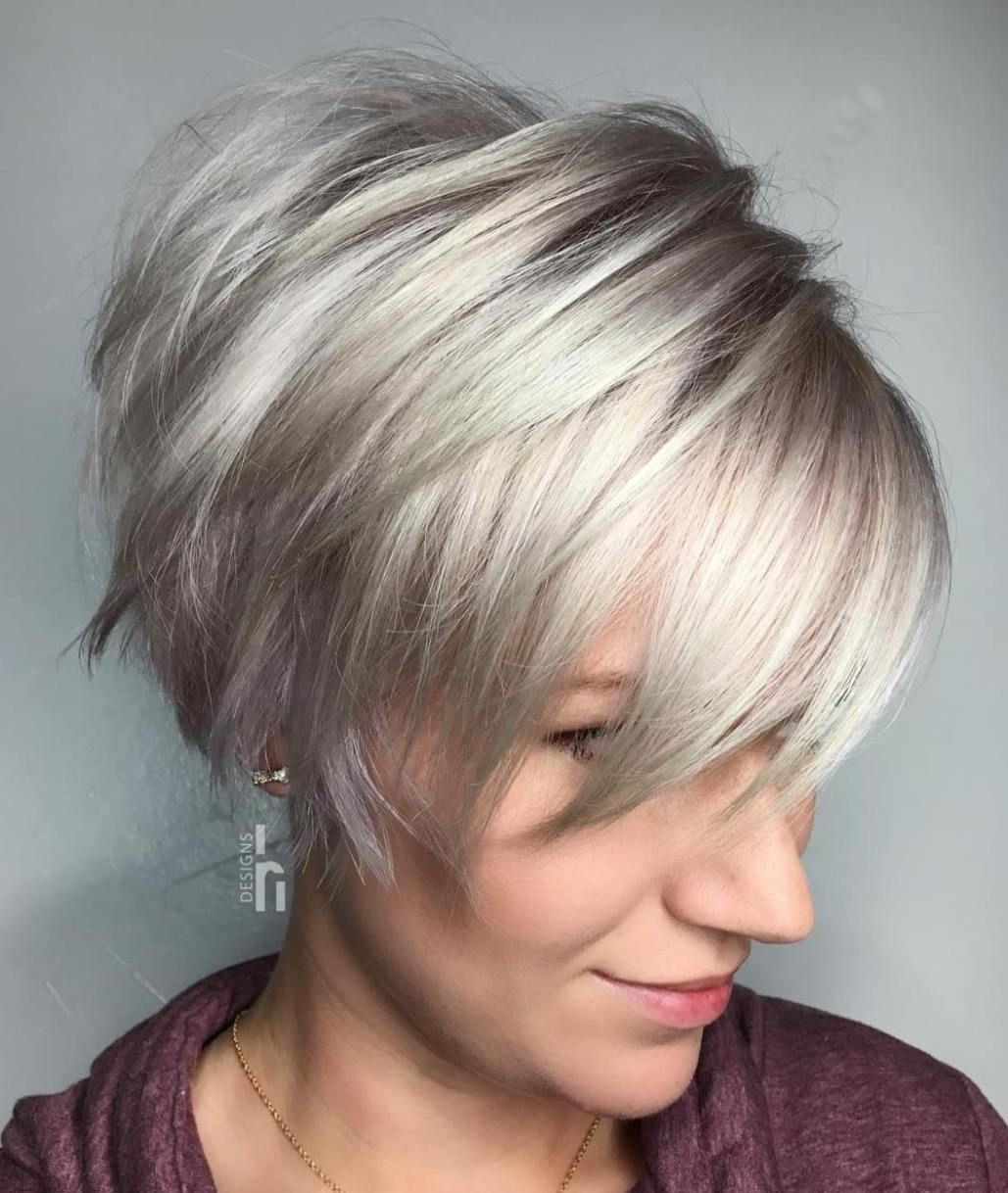 short hairstyles for fat faces 2021 version 37