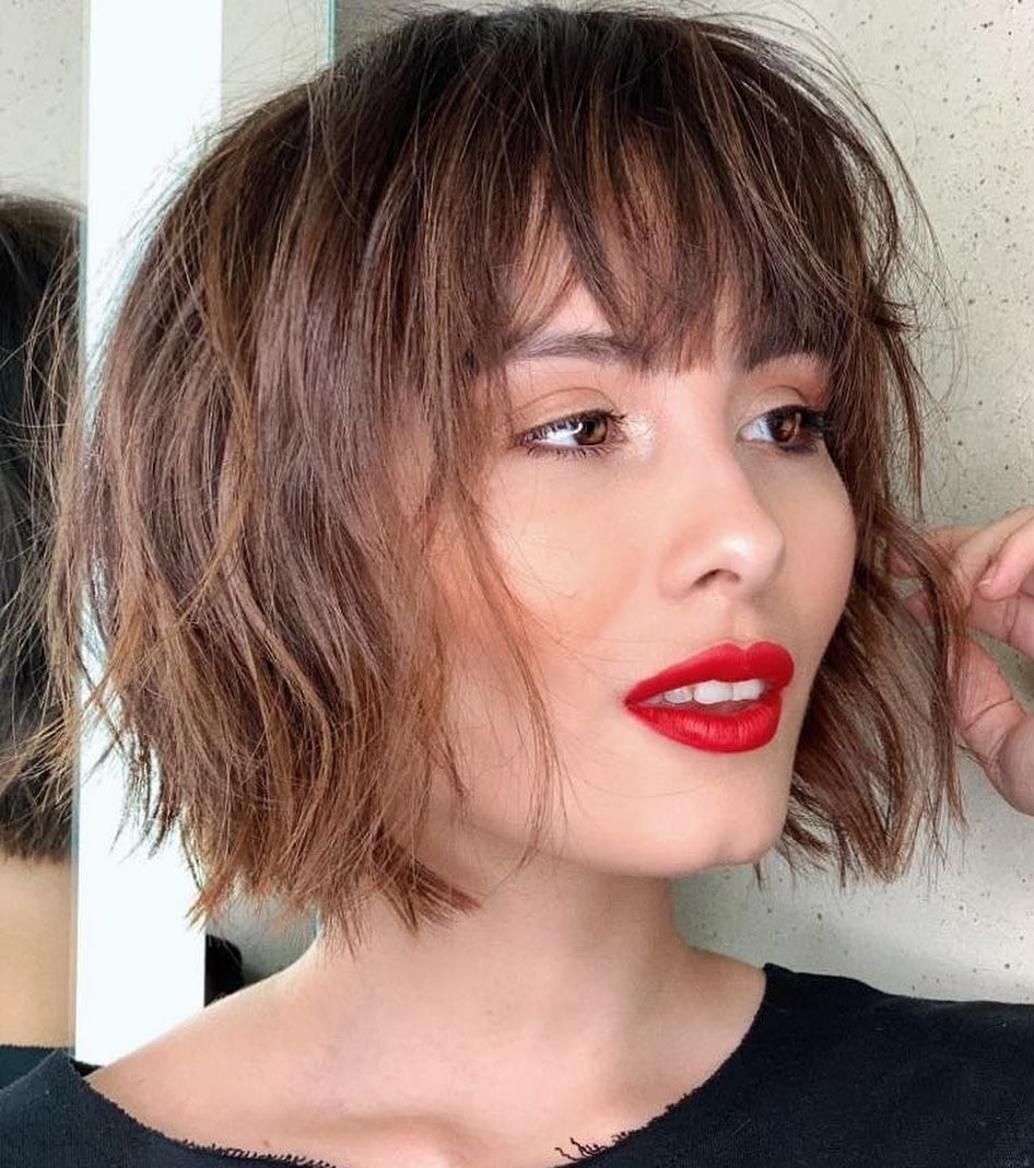 short straight haircut ideas for a younger look 12