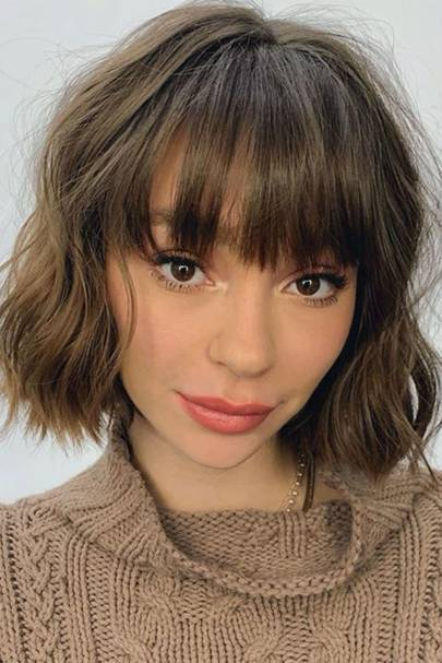 short straight haircut ideas for a younger look 13