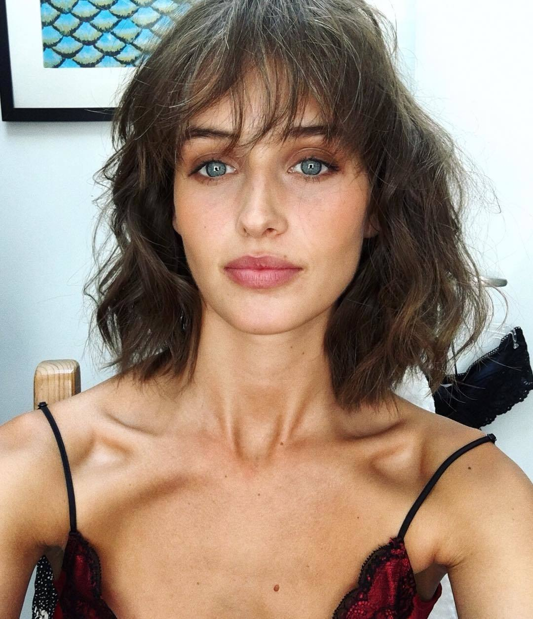 short straight haircut ideas for a younger look 14