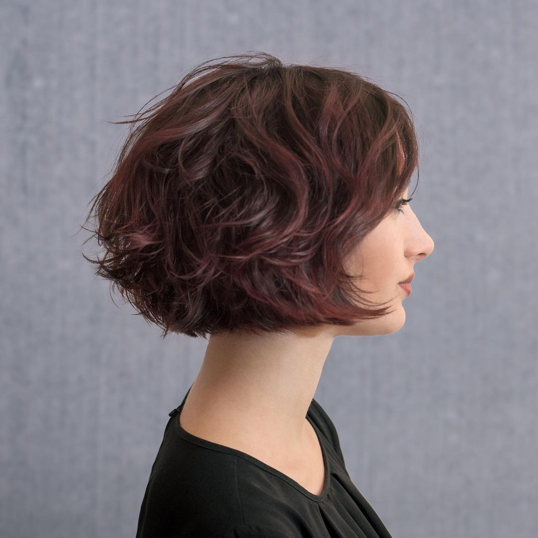 short straight haircut ideas for a younger look 18