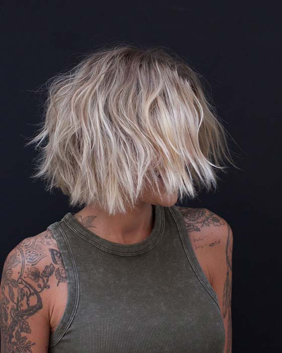 short straight haircut ideas for a younger look 19