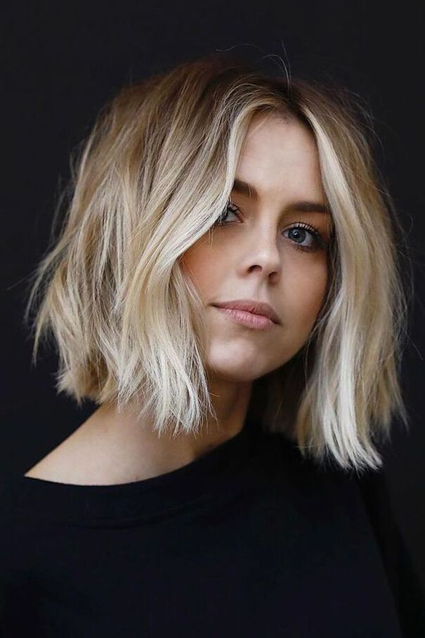 short straight haircut ideas for a younger look 20