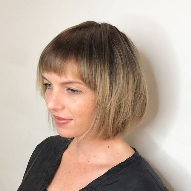 short straight haircut ideas for a younger look 21