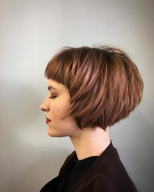short straight haircut ideas for a younger look 22