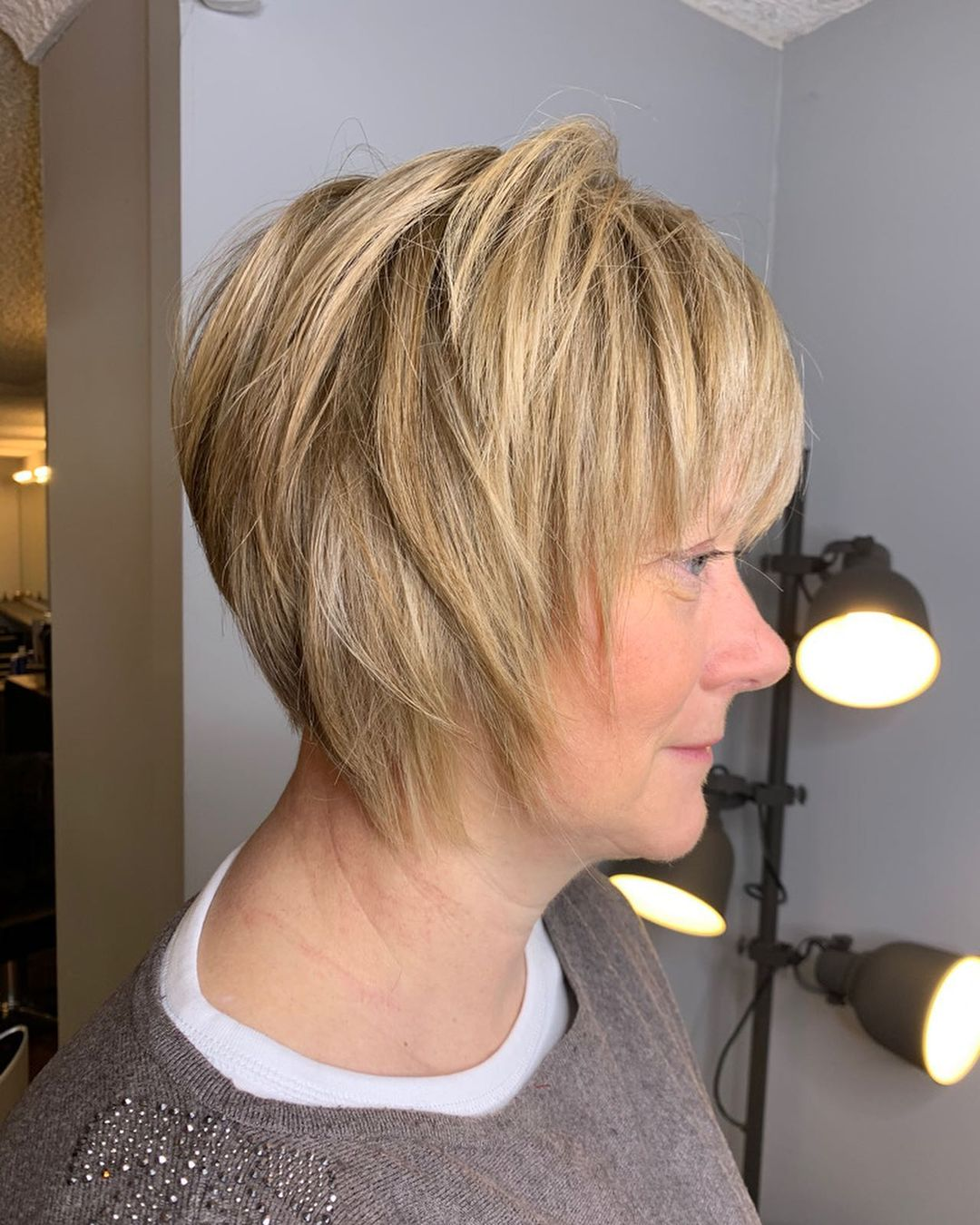 short straight haircut ideas for a younger look 23