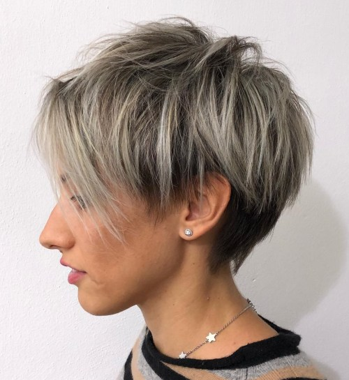 short straight haircut ideas for a younger look 25