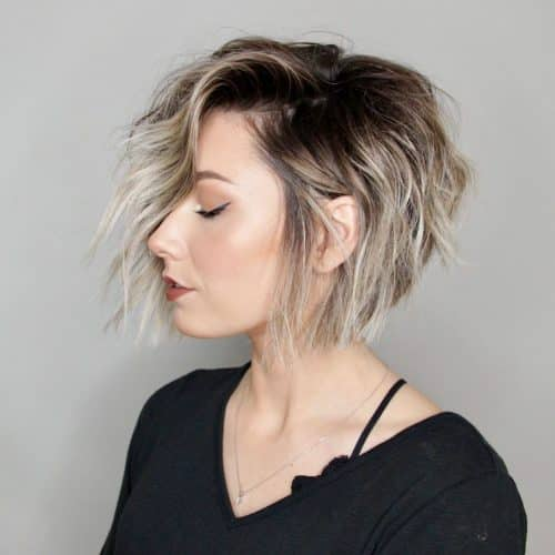 short straight haircut ideas for a younger look 26