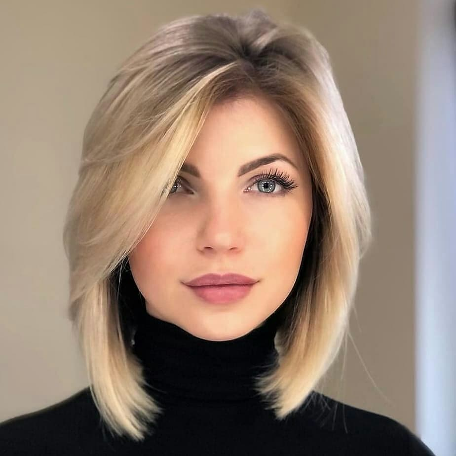 short straight haircut ideas for a younger look 35