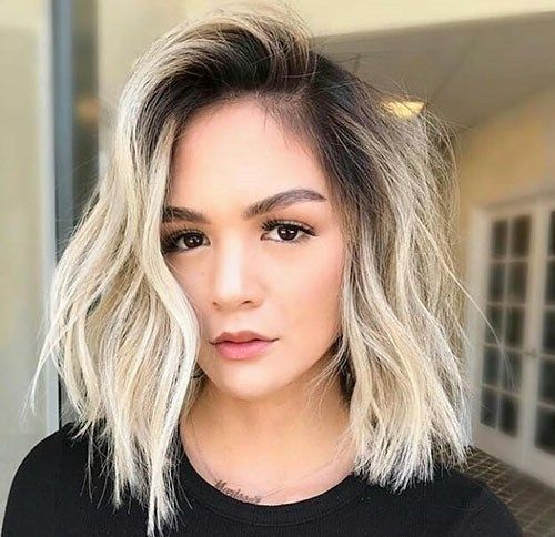 short straight haircut ideas for a younger look 36