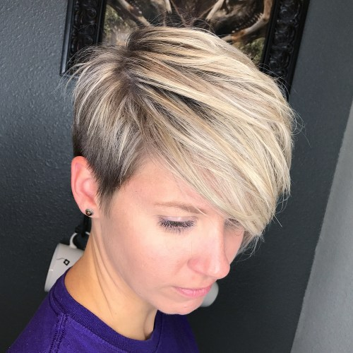 short straight haircut ideas for a younger look 46