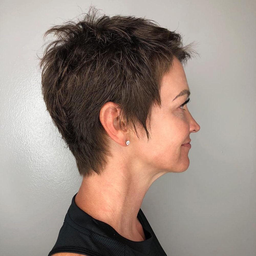 short straight haircut ideas for a younger look 52