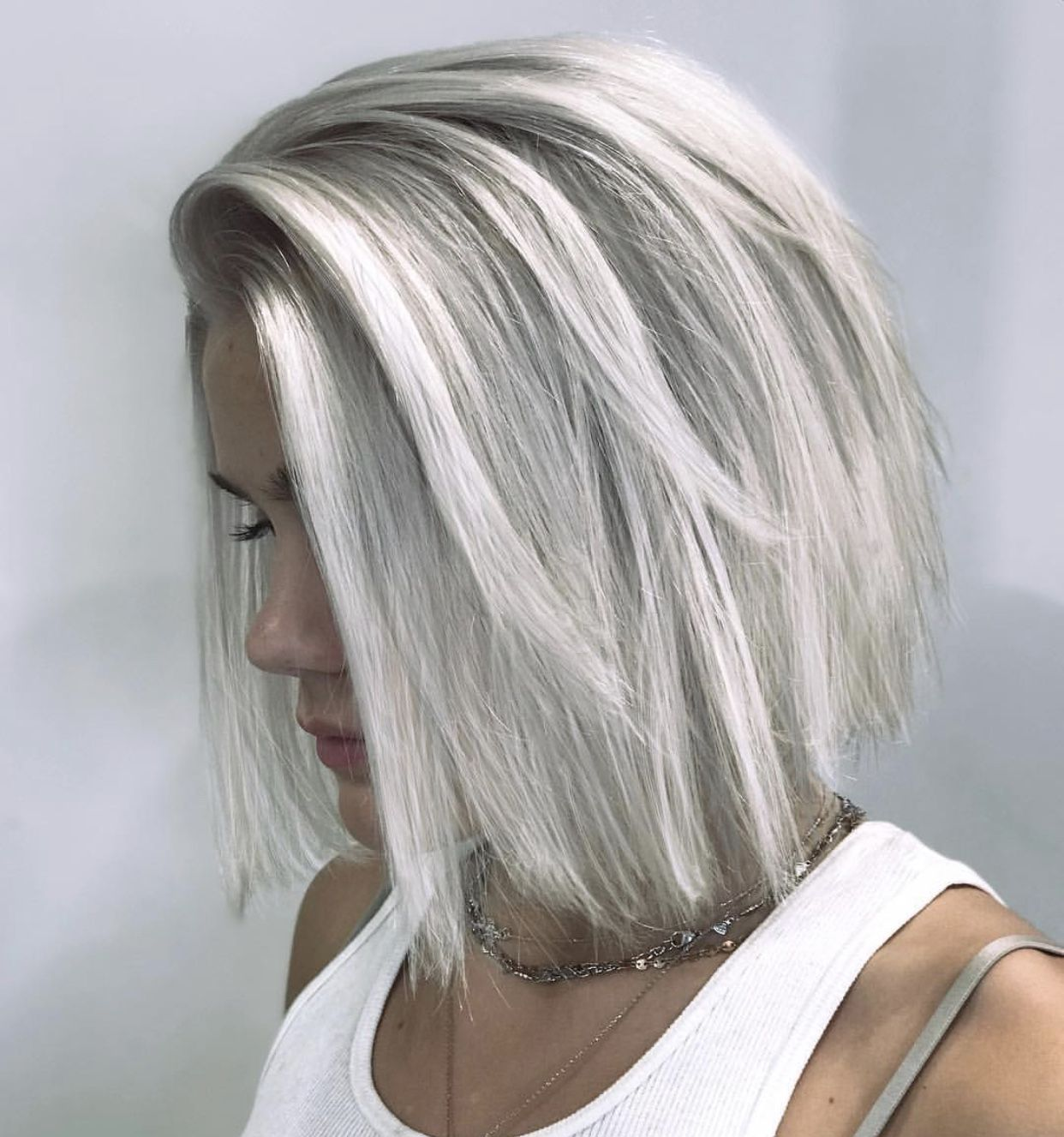 short straight haircut ideas for a younger look 63