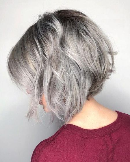 short straight haircut ideas for a younger look 65