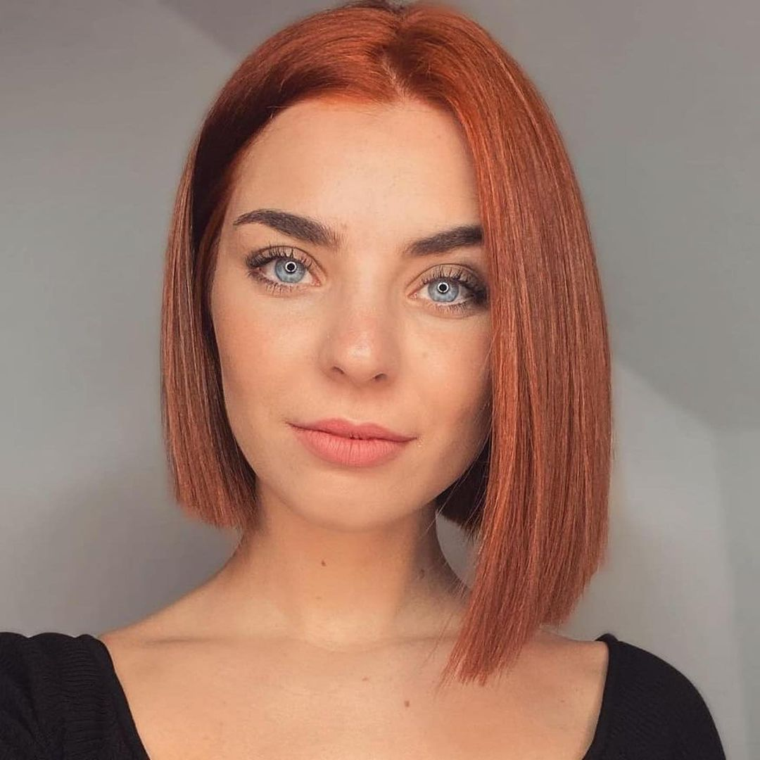 short straight haircut ideas for a younger look 9