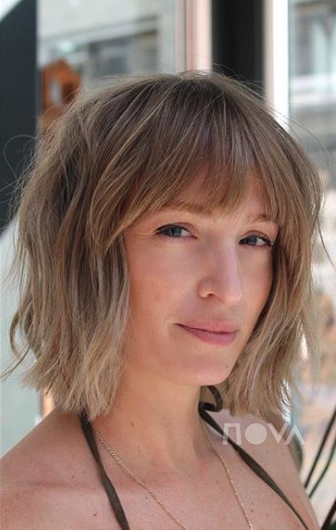 the most stunning hairstyles combining short hair with bangs 15