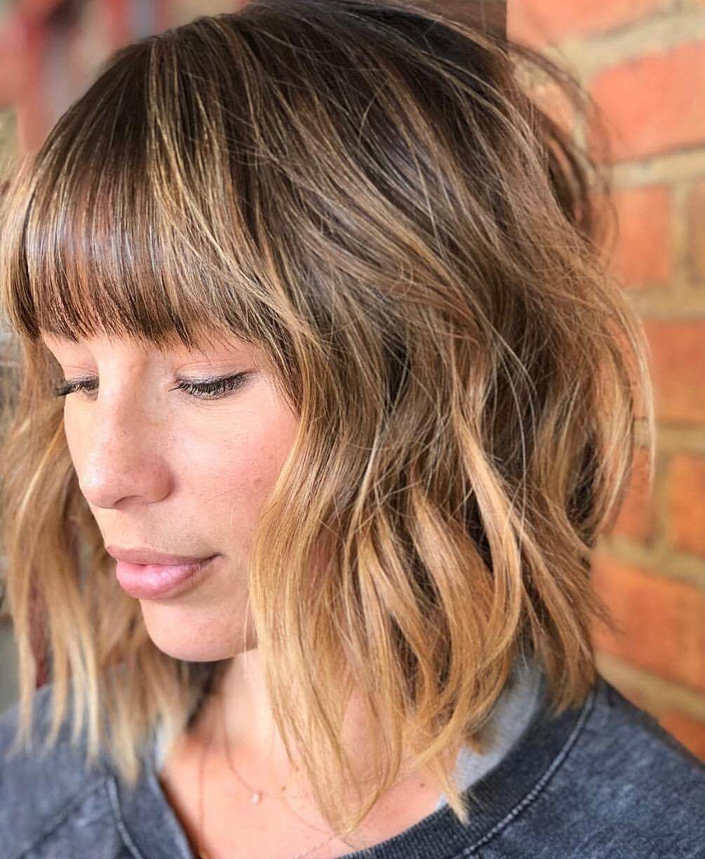 the most stunning hairstyles combining short hair with bangs 16