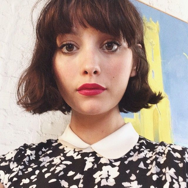 the most stunning hairstyles combining short hair with bangs 8