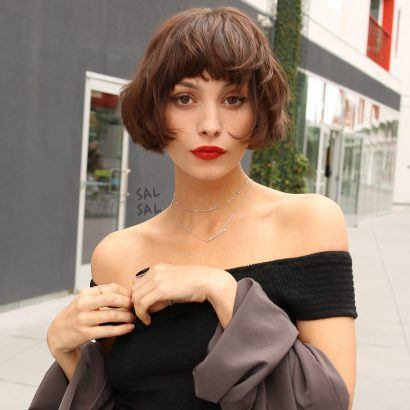 the most stunning hairstyles combining short hair with bangs 9