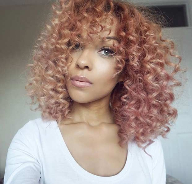 trendy curly short hairstyle looks for free spirits 1