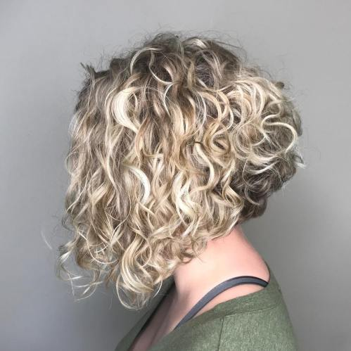 trendy curly short hairstyle looks for free spirits 13