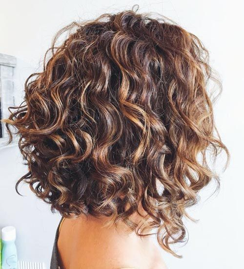 trendy curly short hairstyle looks for free spirits 4