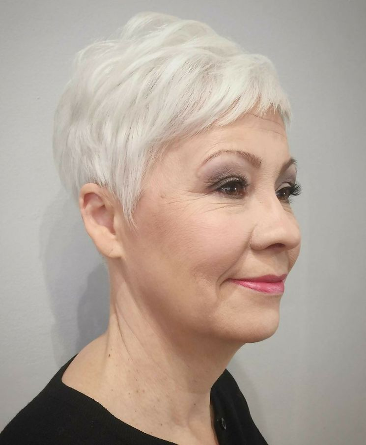 wash and wear haircuts for women over 50 new 1