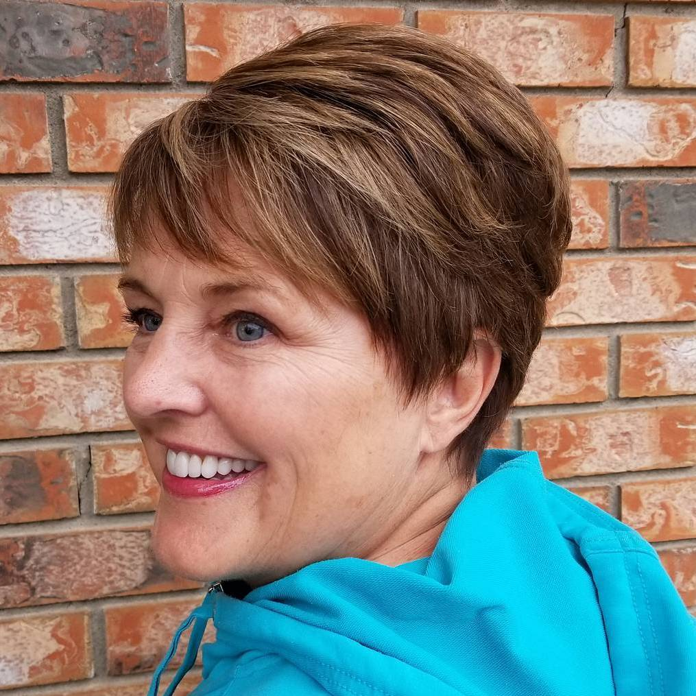 wash and wear haircuts for women over 50 new 13