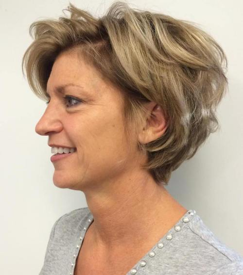 wash and wear haircuts for women over 50 new 17