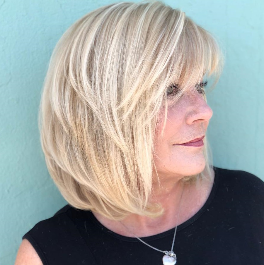 wash and wear haircuts for women over 50 new 19