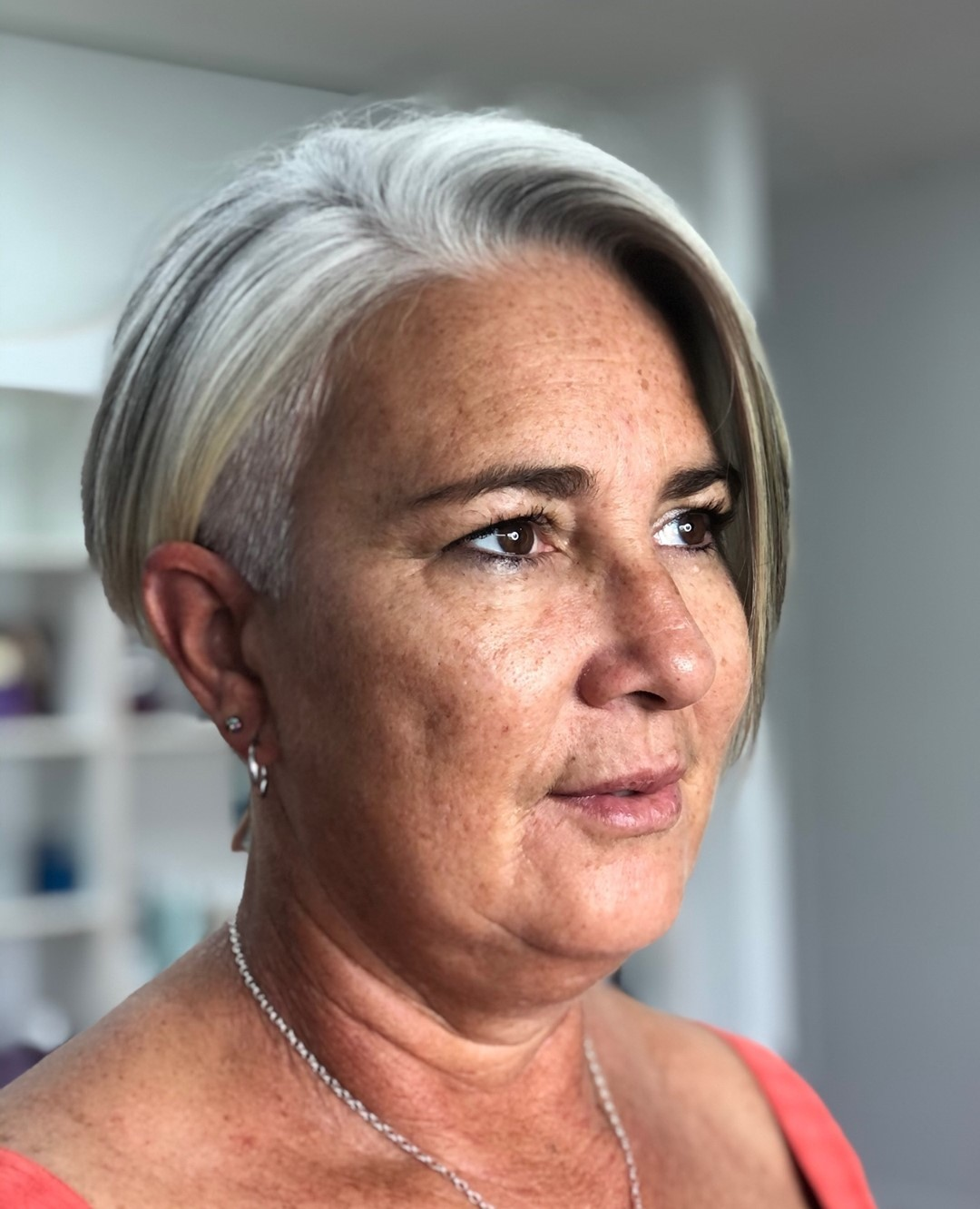 wash and wear haircuts for women over 50 new 6