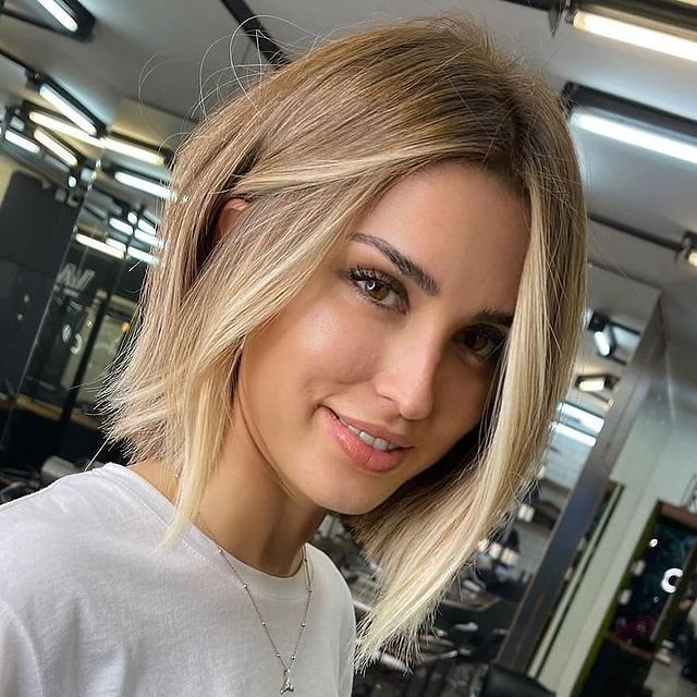 best bob haircut pictures to get a modern look 12