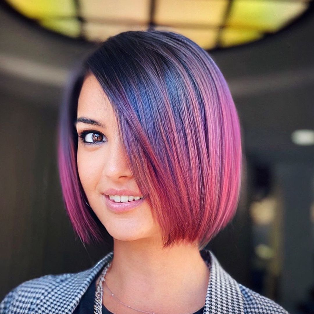 best bob haircut pictures to get a modern look 15