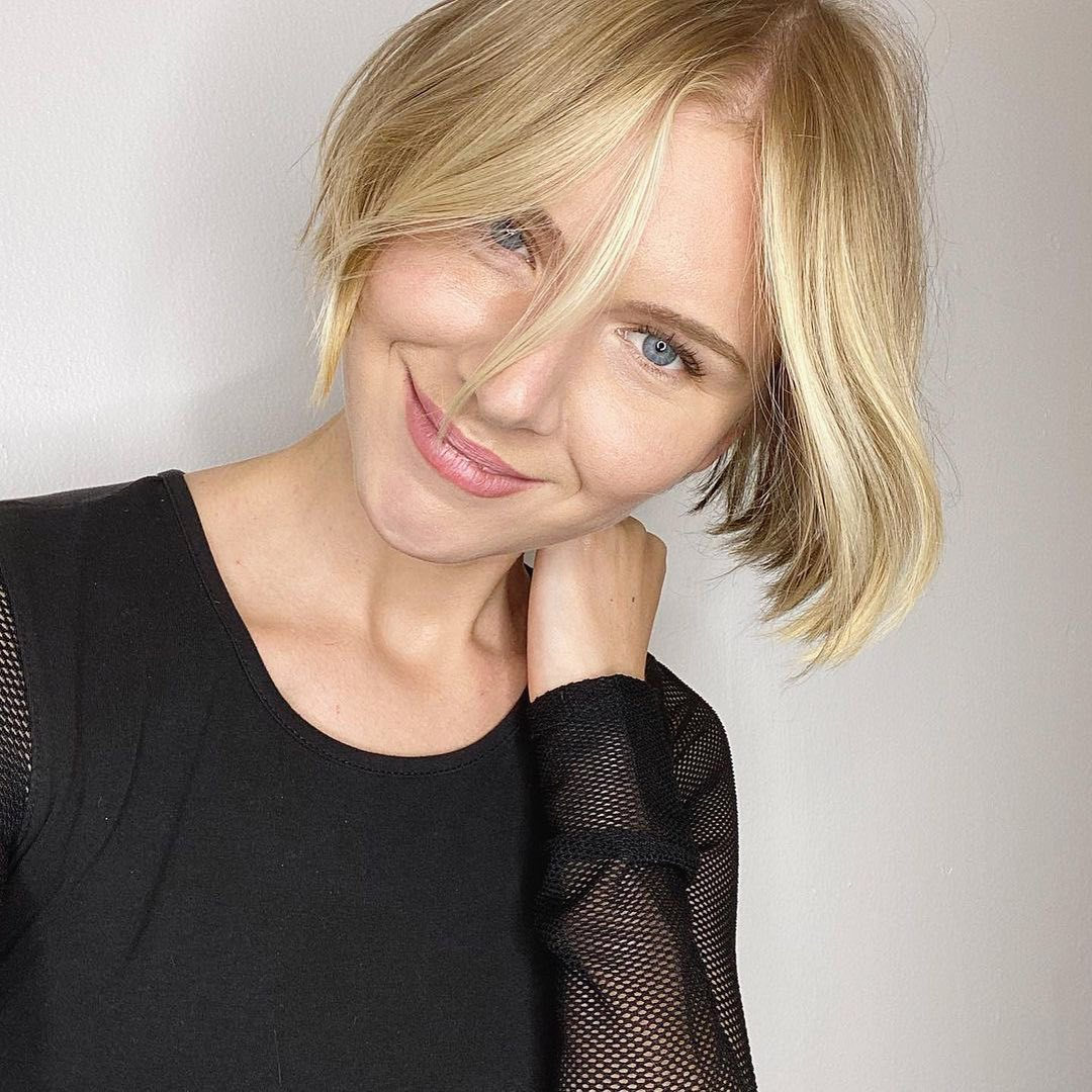 best bob haircut pictures to get a modern look 29