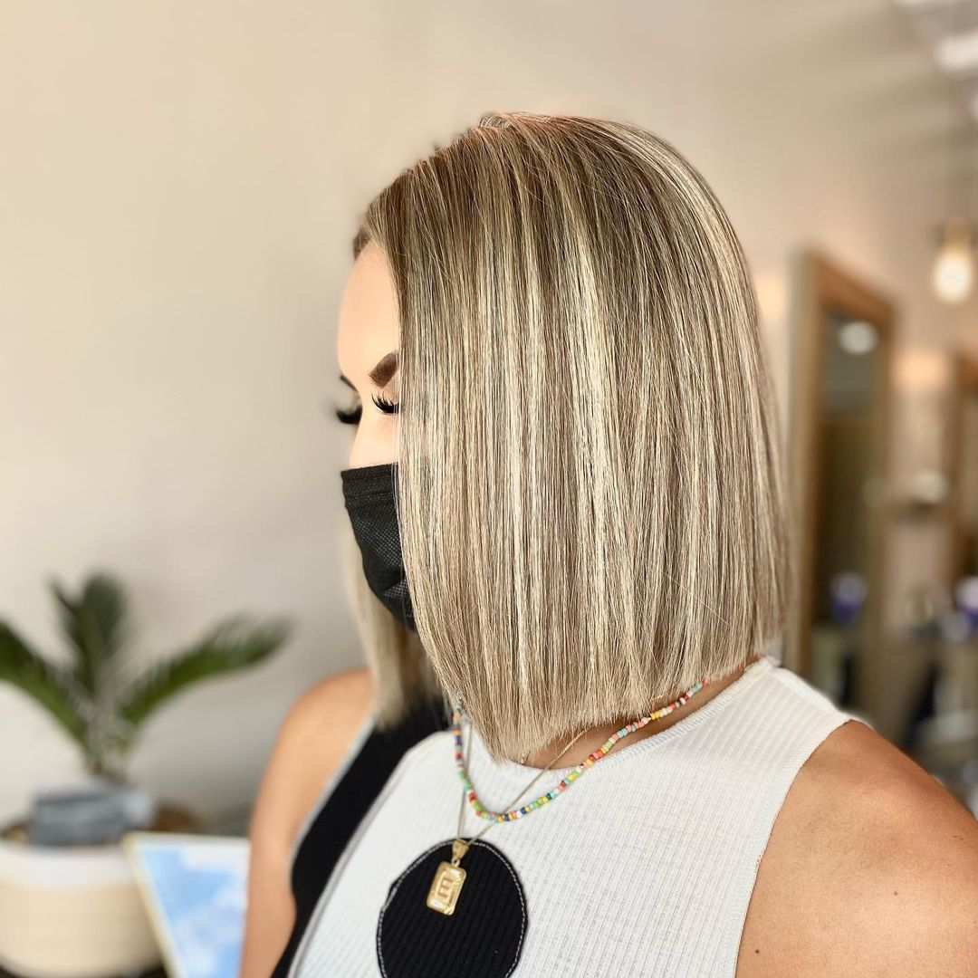 best bob haircut pictures to get a modern look 30