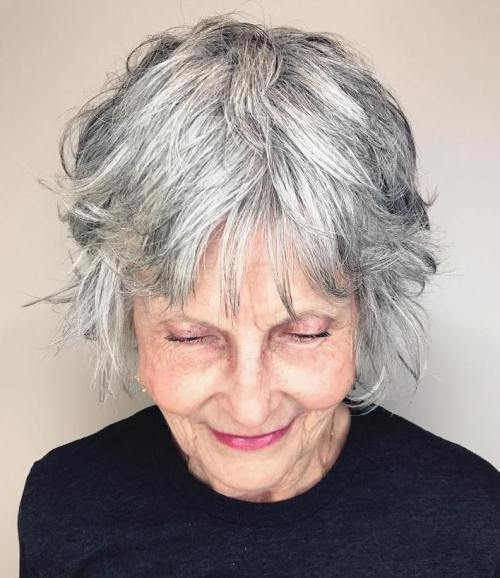 short haircuts female over 50 2021 6
