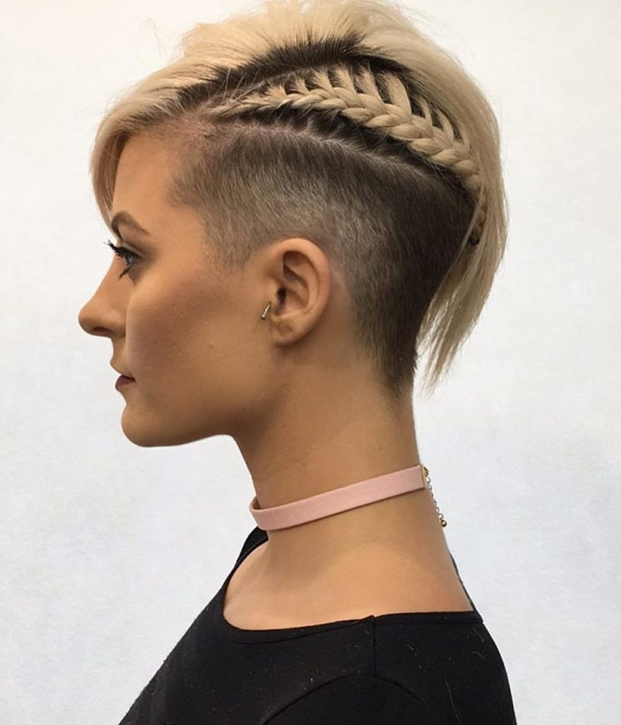 one sided shaved hairstyles 14