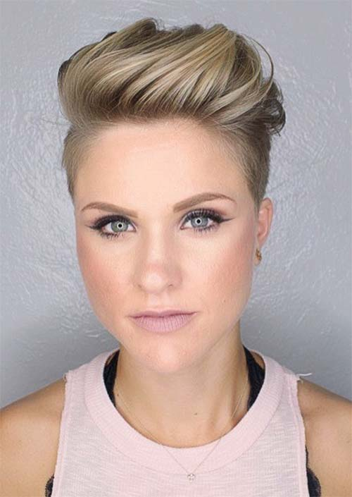 one sided shaved hairstyles 19