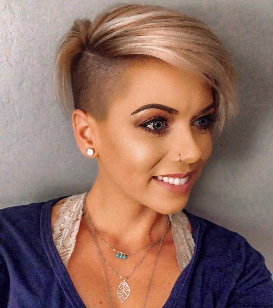 one sided shaved hairstyles 2